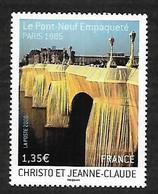 France 2009 - Yv N° 4369 ** - Christo & Jeanne-Claude (Le Pont-Neuf Empaqueté - Ungebraucht