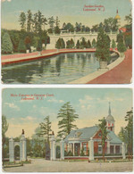 USA 1920 6 Different Coloured Postcards (H. Fried Lakewood) LAKEWOOD, New Jersey - Other