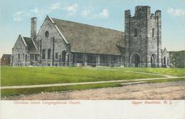 USA 1920 Superb Mint Colpc Christian Union Congregational Church UPPER MONTCLAIR - Other