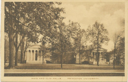 USA 1920 Very Fine Mint Postcard Whig And Clio Halls, PRINCETON University, N.J. - Other