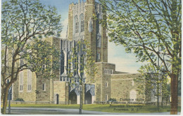 USA 1930 Superb Mint Pc Entrance Harvey S. Firestone Memorial Library PRINCETON - Other