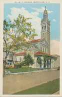 """USA Ca. 1930/40 Superb Used Coloured Pc """"R.C. Church, MONTCLAIR, New Jersey"""" - Other"""
