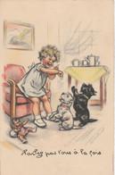 """Germaine BOURET - """" Parlez Pas Tous à La Fois . """" 1941 Chien Caniche - Bouret, Germaine"""