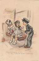 """Germaine BOURET - """"Passons La Monnaie S V P Une Place Seulement Médor N'a Pas 4 Ans ! """" 1941 Chien - Bouret, Germaine"""