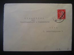 Österreich 2. Republik 1945- 1. Wiener Aushilfsausgabe MiNr. 662, Brief Leider Ganz Geöffnet! - 1945-60 Brieven