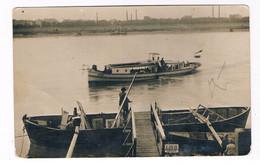 A-4982  WIEN : RPCC Of A Ferry Across The Donau ( Fähre ??) - Otros