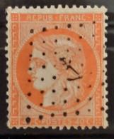 France 1870 N°38 Ob  Ancre Noir  TTB - 1870 Siege Of Paris