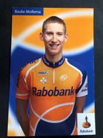 Bauke Mollema - Rabobank - 2008 - Card / Carte - Cyclists - Cyclisme - Ciclismo -wielrennen - Cycling