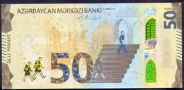 Azerbaijan 50 Manat 2020 UNC P- New - Azerbaïjan