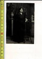 518 - PHOTO FEMME  - FOTO VROUW  -  PHOTOGRAPHIE R. DERYCKERE GULLEGHEM - Persone Anonimi