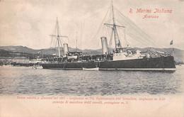 Italie - Italian Cruiser ARETUSA - Regia Marina Italiana - Venne Varata A LIVORNO Nel 1891, Cantiere Navale Orlando - Livorno