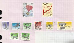 Irlande N°705 à 710, 707b, 707d Cote 8.50 Euros (703, 704 Offerts) - Usati