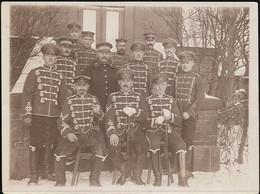 AK/CP Foto Husaren Hamburg Wandsbek   1. WK  Ungel/uncirc 1916 Erhaltung/Cond. 2  Nr. 01293 - Oorlog 1914-18