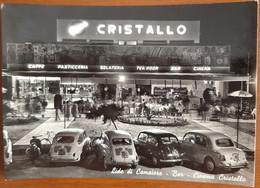 LIDO DI CAMAIORE - LUCCA - CINEMA CRISTALLO - BAR / CAFFE' / PASTICCERIA / TEA ROOM / GELATERIA - AUTO - VESPA - 1965 - Lucca