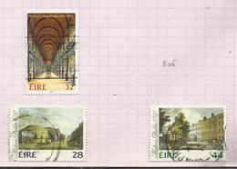 Irlande N°805, 807, 808 Cote 4 Euros - Usati