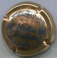 CAPSULE-CHAMPAGNE FEUILLATTE NICOLAS N°13a Cuivre Et Bleu - Feuillate