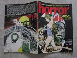 # HORROR N 12 / 1970 SANSONI EDITORE / ANDIAMO ALL' HAVANA DI BONVI - Prime Edizioni