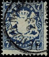Nr. 25 Y C, Seltene Farbe, Doppelt Signiert, Mi. 220.-,  A4308 - Bayern (Baviera)