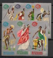 Burundi - 1965 - N°Mi. 183 à 189 - Exposition De New York - Neuf Luxe ** / MNH / Postfrisch - 1962-69: Ongebruikt