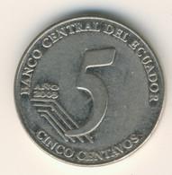 ECUADOR 2003: 5 Centavos, KM 105 - Ecuador