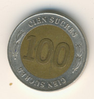 ECUADOR 1997: 100 Sucres, KM 101 - Ecuador