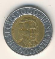 ECUADOR 1996: 1000 Sucres, KM 99 - Ecuador