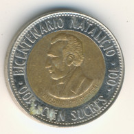 ECUADOR 1995: 100 Sucres, KM 96 - Ecuador