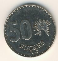 ECUADOR 1991: 50 Sucres, KM 93 - Ecuador