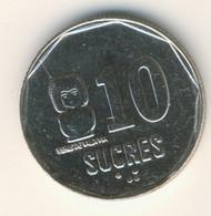 ECUADOR 1991: 10 Sucres, KM 92 - Ecuador