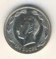 ECUADOR 1990: 1 Sucre, KM 89 - Ecuador