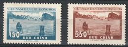 North Viet Nam - 1959 - Sc 89 - 90 - Ha Long Bay - MH - #3 - Vietnam