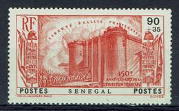 Sénégal, 90c+35c, Révolution, Prise De La Bastille, 1939, (*), TB - Unused Stamps