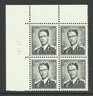 DR6 : Nr 924W Met Drukdatum 28 I 61 ( Postfris ) - 1953-1972 Anteojos