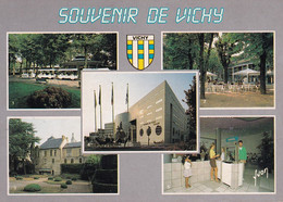 France  -  Postcard Unused    -  Vichy  -  Multi Views  - 2/scans - Vichy