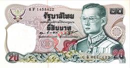 Thailand 20 Bath, P-88 (1981) - UNC - Signature 55 - Thailand