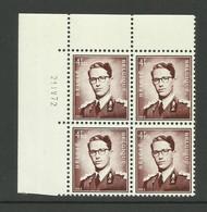 DR12 : Nr 1068AF Met Drukdatum 21 IV 72 ( Postfris ) - 1953-1972 Anteojos