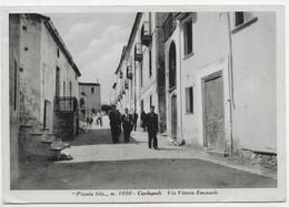 Carlopoli (Catanzaro). Via Vittorio Emanule. - Catanzaro