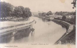 Vannes Entree Du Port Carte Postale Animee    1916 - Vannes
