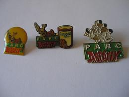 3 Pin's Parc ASTERIX - BD