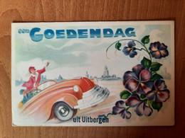 Een Goedendag Uit UItbergen - Verstuurd In 1950 Naar Ath - Berlare