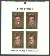 Guyana, 1994, Elvis Presley, Singer, Gold, MNH ERROR PROOF, Michel 4526 - Guiana (1966-...)