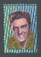 Guyana, 1994, Elvis Presley, Singer, Hologram, Gold And Silver, MNH, Michel 4527 Type III - Guyana (1966-...)
