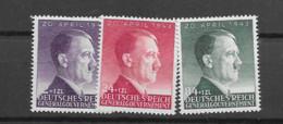 1943 MNH General Government MI 101-3 Postfris** - Gobierno General