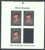 Guyana, 1994, Elvis Presley, Singer, Silver, MNH PROOF, Michel 4527 - Guiana (1966-...)