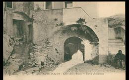 CPA EZE - Entrée Du Château - Non Circulée - Eze