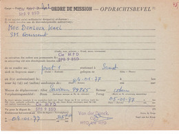 Opdrachtsbevel BPS 1      Kaart 976 - Correo Militar