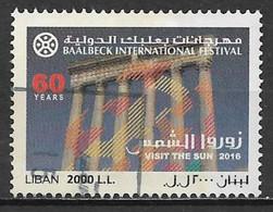 Lebanon 2016. Scott #743 (U) Baalbek International Festival, 60th Anniv. ** Complete Issue - Lebanon