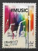 Lebanon 2017. Scott #774 (U) World Music Day ** Complete Issue - Lebanon