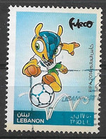 Lebanon 2014. Scott #712 (U) World Cup Soccer Championships, Brazil - Lebanon