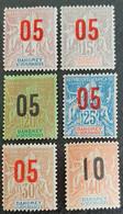DAHOMEY       N° Y&T  34à 39  * NSG - Unused Stamps
